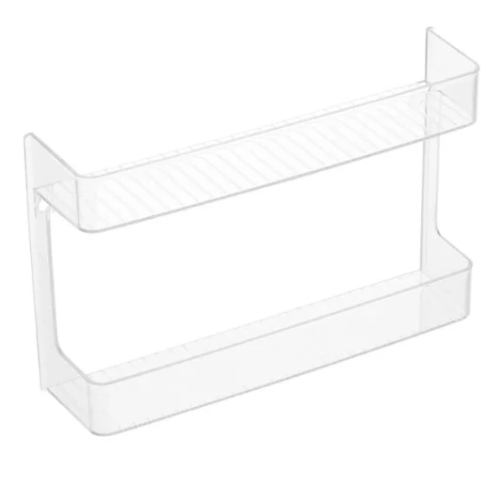 Acrylic 2-Shelf Spice Rack