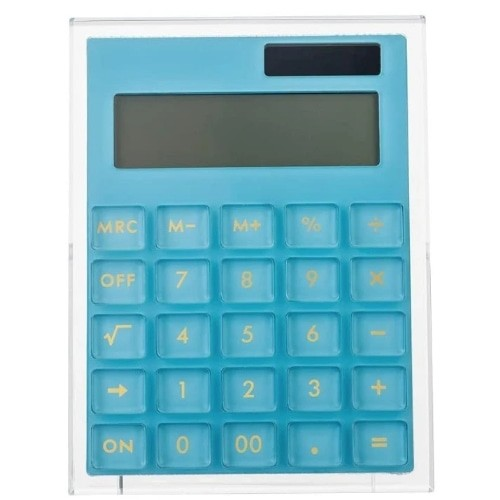 Acrylic Calculator