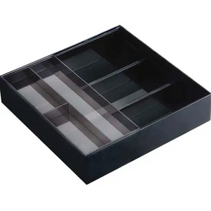 Black Expandable Utensil Drawer