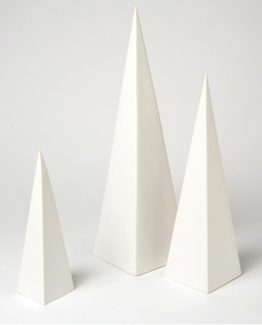 Pyramid Object - Set of 3