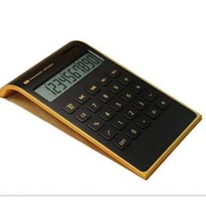 Curved Desktop Calculator