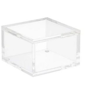 Acrylic Square Lidded Box