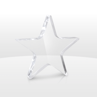 Acrylic Star Paper Weight