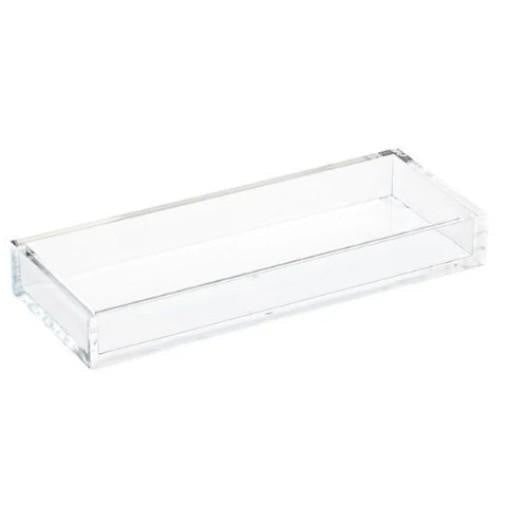 Acrylic Rectangle Tray with or without Lid