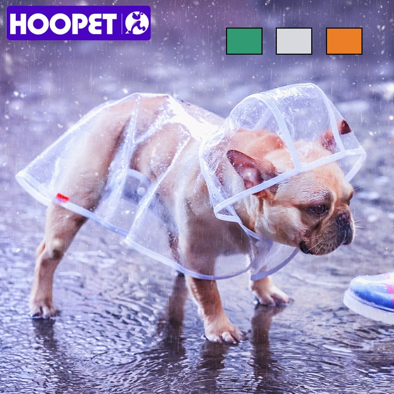 HOOPET Transparent Rain Poncho