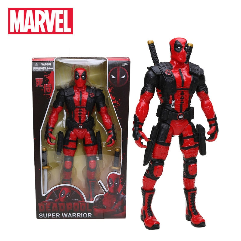 33cm Marvel Toys Deadpool Figure 1/10 Scale Painted