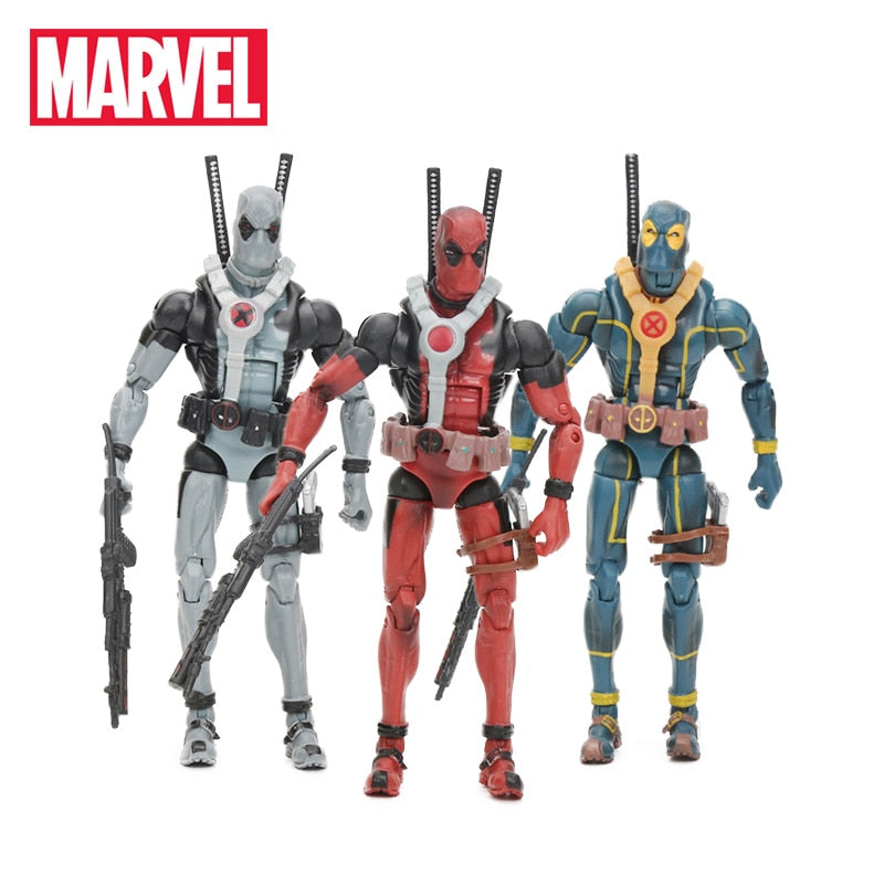 15cm Marvel Legends SeriesDeadpool PVC Action Figure - Three colors