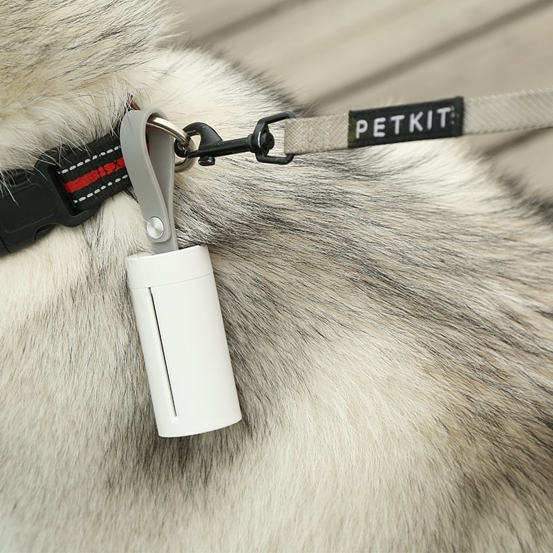 PETKIT Portable Pet Dog Waste Bag Dispenser With Collar Attachment