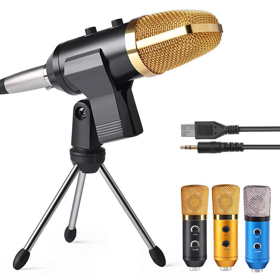 MK F100TL USB Condenser Microphone With Stand