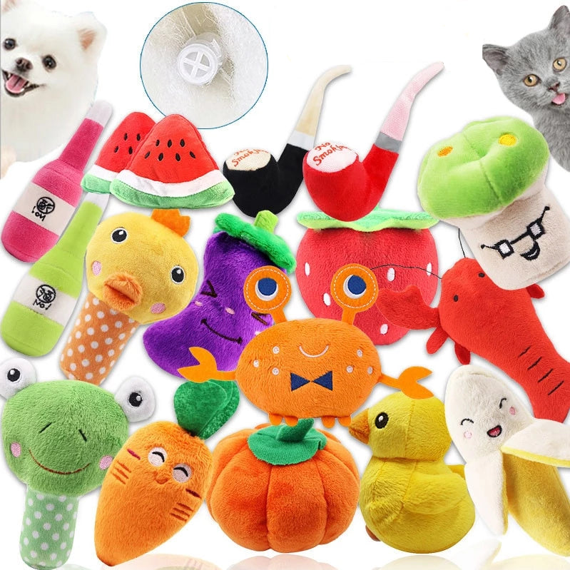Cat Squeaky Toys - 15 Options