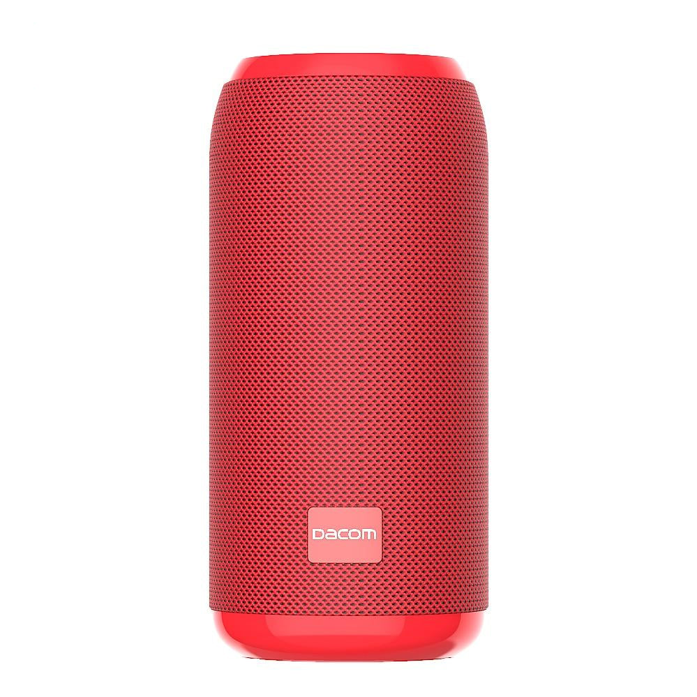 DACOM Q53 5W Water Resistant 3D Sound Bluetooth Speaker With TF Slot + FM - Black Or Red