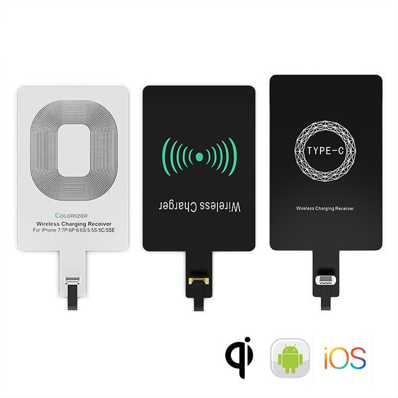 Qi Universal Wireless Charging Receiver Module For Android and iPhone