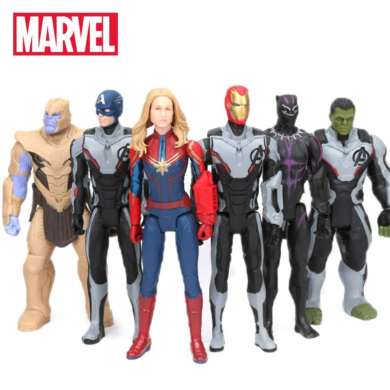 30cm Marvel Toys Avengers 4 Endgame Thanos Hulk Iron Man Captain America Black Panther Antman Captain Marvel Black Ronin