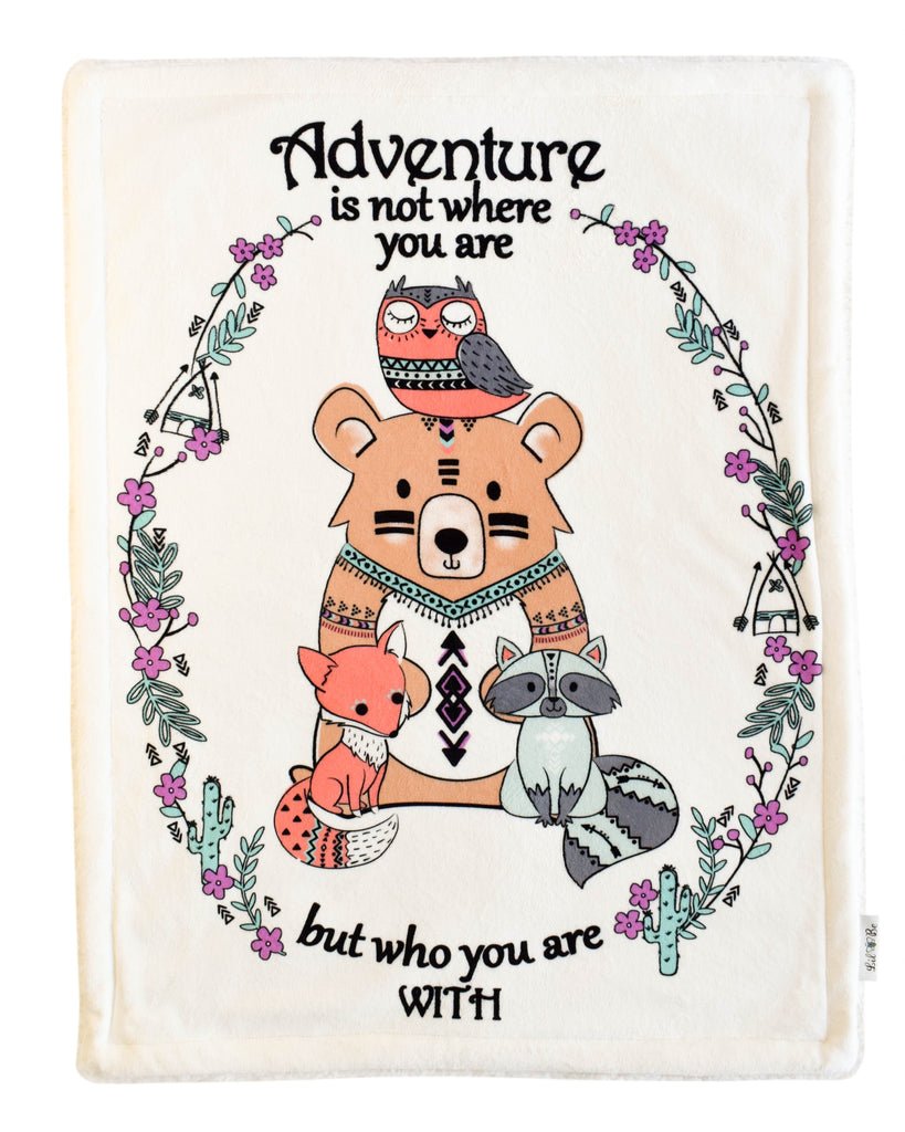 Lil Be - Plush Adventure Family Blanket