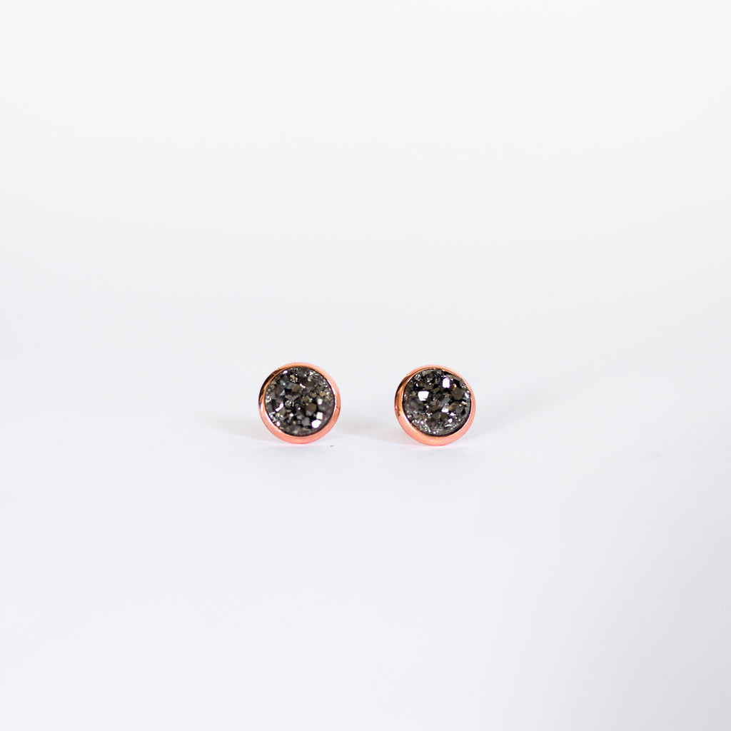 BADALA - Kalenjin Druzy Earrings