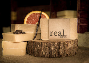 Real. Soaps - Vanilla & Orange with Clove Soap