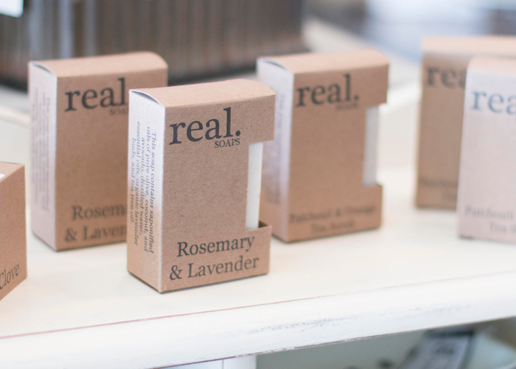 Real. Soaps - Lavender and Rosemary Soap