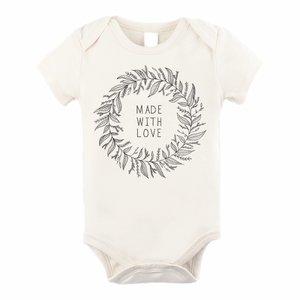Tenth & Pine - Made With Love Short Sleeve Onesie