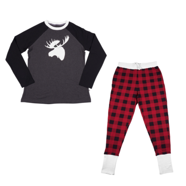 Tiny Trendsetter - Lola & Taylor - Country Moose Women's Pajama Set