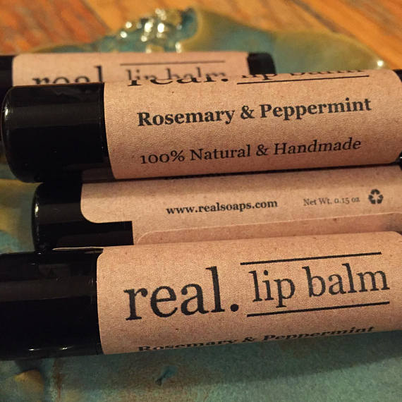 Real. Soaps - Natural Lip Balm