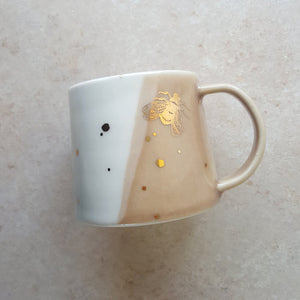 Apricity Ceramics - Drops of Honey Mug