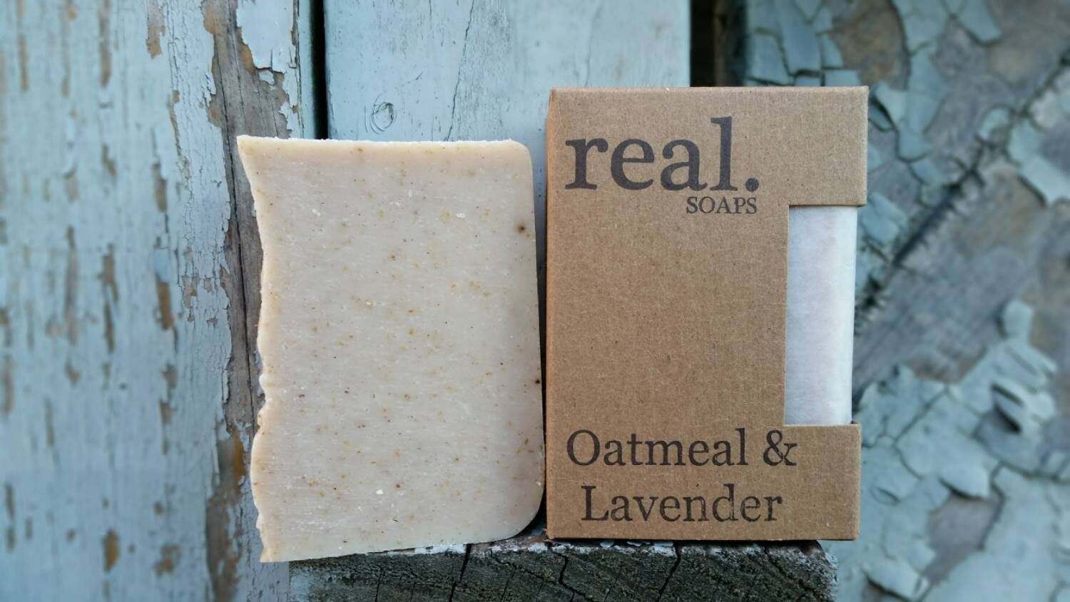 Real. Soaps - Oatmeal & Lavender Soap
