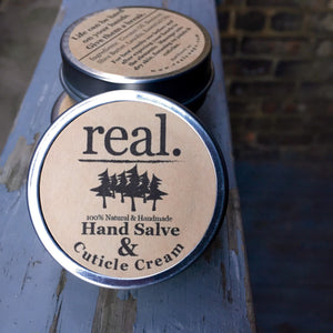 Real. Soaps - Hand Salve & Cuticle Cream