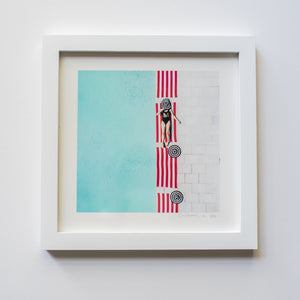 Framed Mini Print - Hi - Christine Mueller Photography