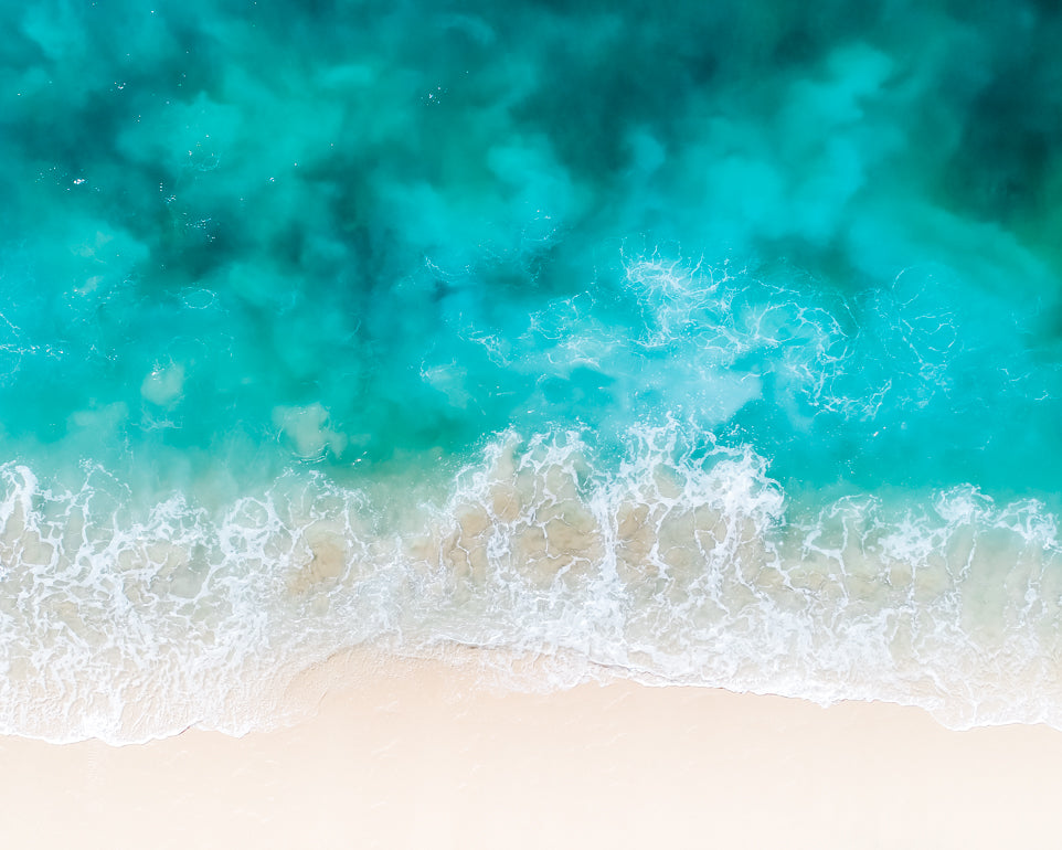Cabo San Lucas Beach Blues - Christine Mueller Photography