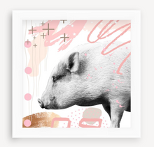 Load image into Gallery viewer, Pig - Animal Graffiti - Christine Mueller Photography