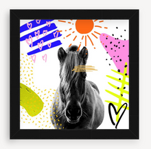 Load image into Gallery viewer, Wild Horse - Animal Graffiti - Christine Mueller Photography