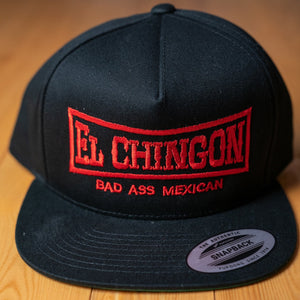 El Chingon Original Black Snapback