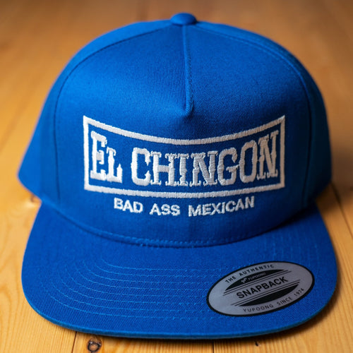 El Chingon Royal Blue Snapback Hat