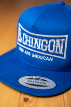 Load image into Gallery viewer, El Chingon Royal Blue Snapback Hat