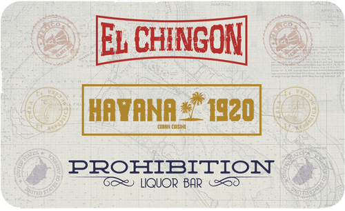 El Chingon | Havana 1920 | Prohibition Gift Card