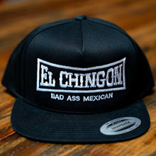 Load image into Gallery viewer, El Chingon Original Black Snapback