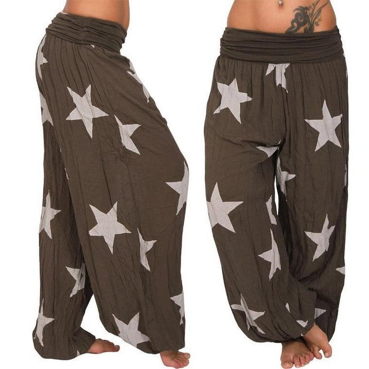 Casual Harem Long Pants