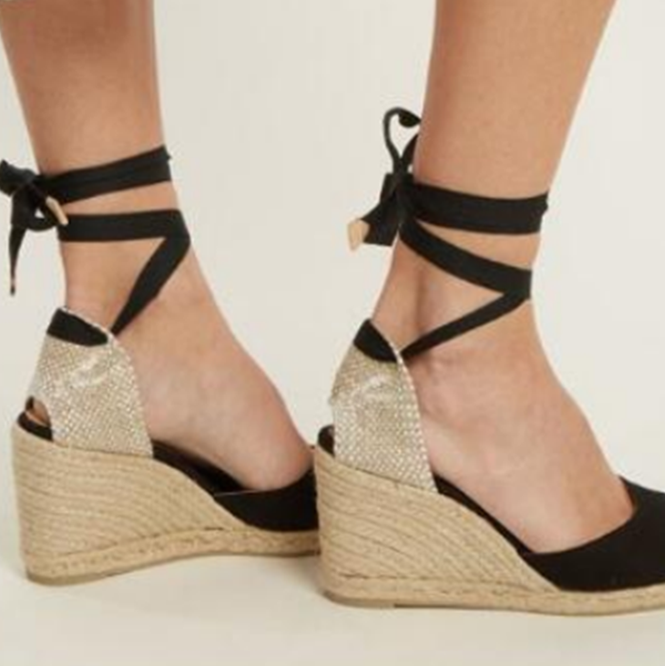 Casual Bandage High Heel Sandals