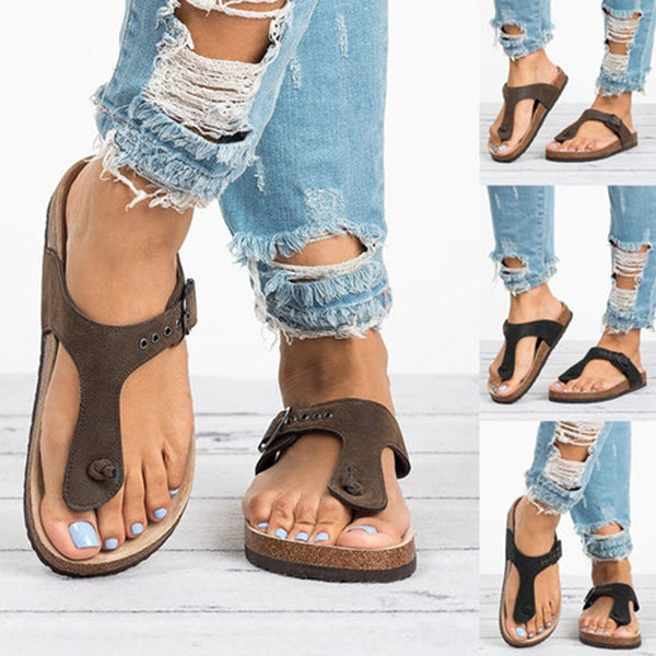 Women Casual Flat Beach Slippers