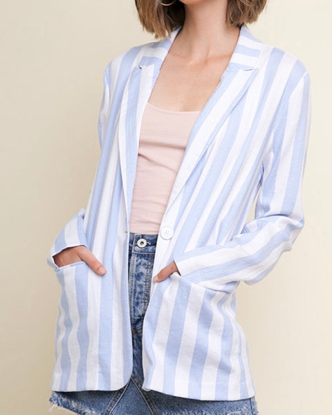 The Stripe Blazer