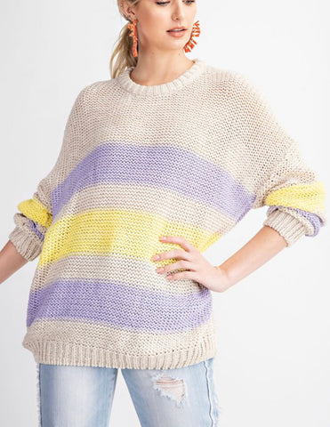 The Cozy Stripe Sweater