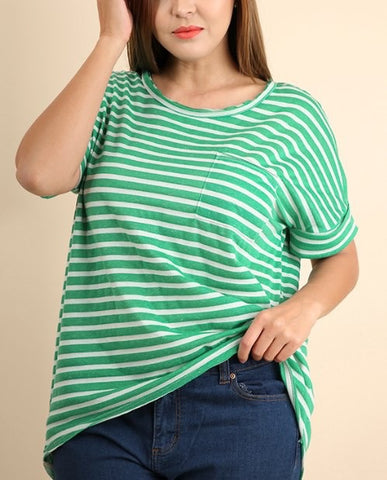 The Green Stripe Tee
