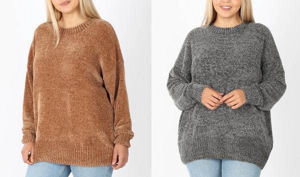 The Favorite Chenille Sweater