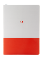 London Underground Central Line A5 Notebook