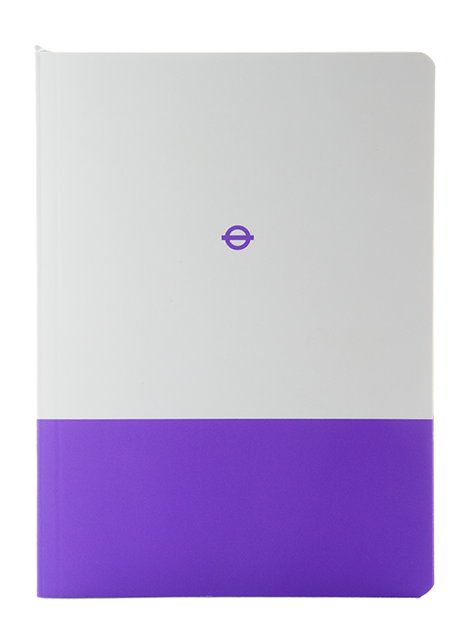 London Underground Elizabeth Line A5 Notebook