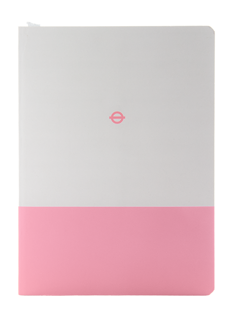 London Underground Hammersmith & City Line A5 Notebook