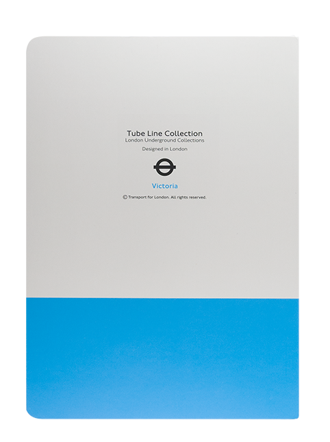 London Underground Tube Line Collection A5 Notebook