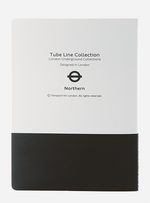 London Underground A6 Notebook Set of three (Jubilee, Northern and Bakerloo)