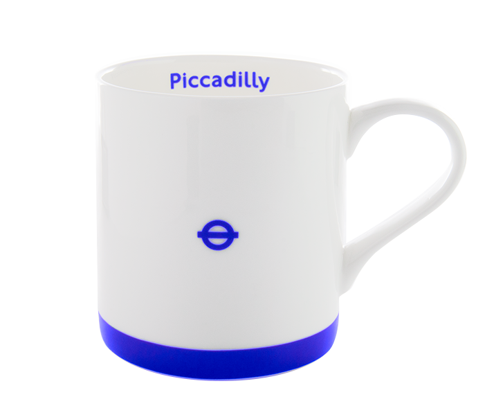 London Underground Piccadilly Line Mug