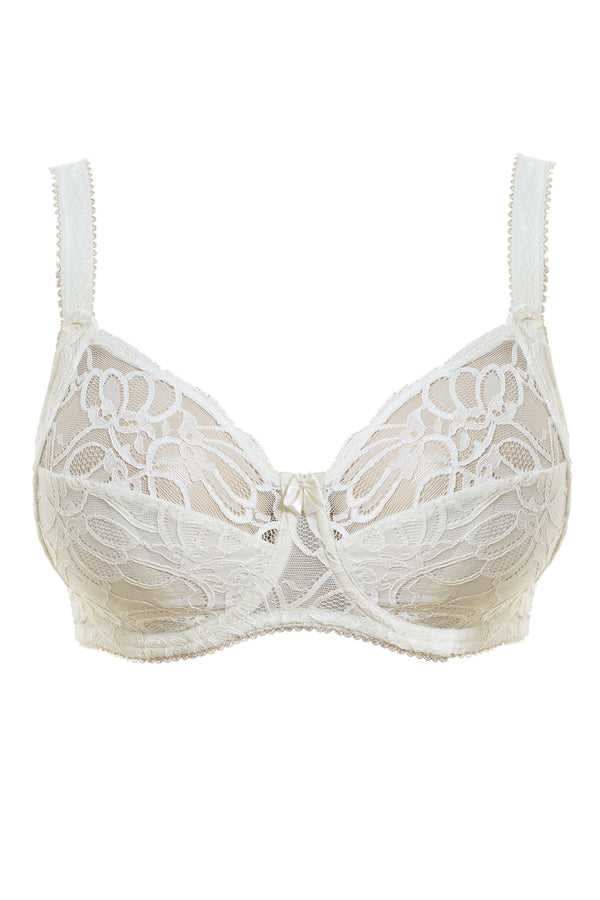 Fantasie - Jacqueline Lace Ivory Uw Full Cup Bra With Side Support